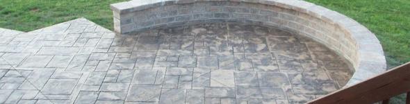 beton amprentat pavaj