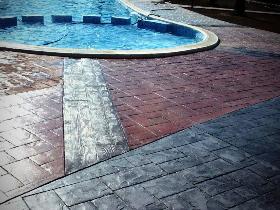 beton amprentat comarnic